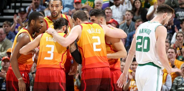Utah Jazz Get Their Revenge Against Gordon Hayward And The Celtics Basketball Index