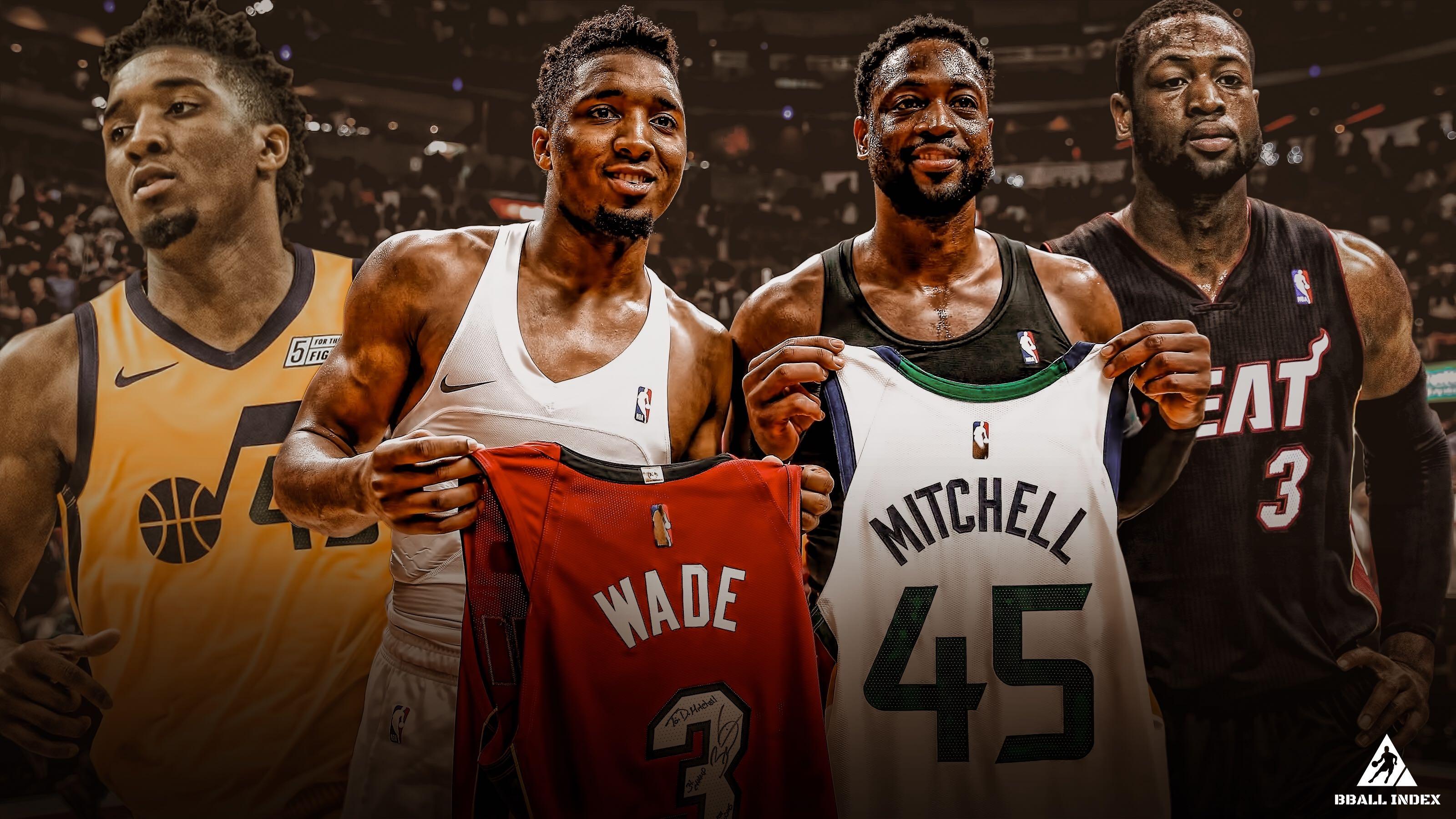 24歲的Mitchell季後賽場均36分,作為米球的模板,同時期的韋德是什麼表現?-黑特籃球-NBA新聞影音圖片分享社區
