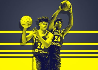 Alize Johnson of the Fort Wayne Mad Ants and Indiana Pacers