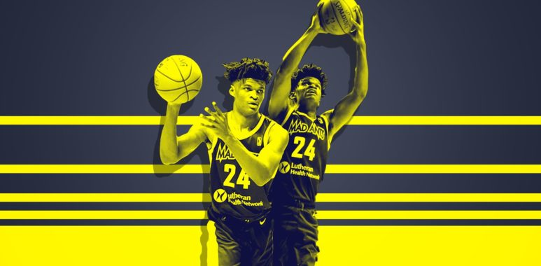 new concept 175f7 7ab37 Alize Johnson is better than his G League peers - Basketball ...