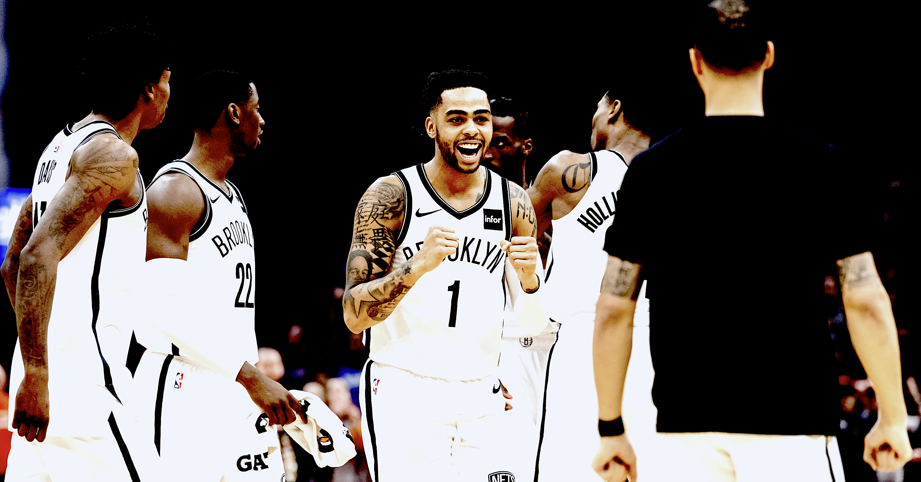 D'Angelo Russell goes berserk in triple overtime win - Basketball Index