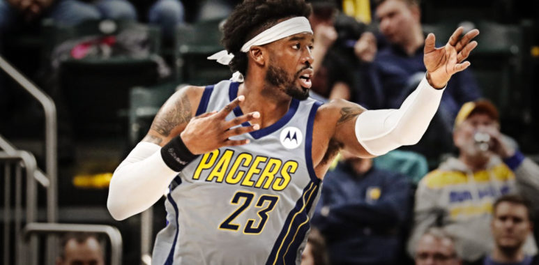 Wesley Matthews of the Indiana Pacers