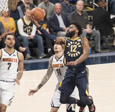 Indiana Pacers versus Denver Nuggets