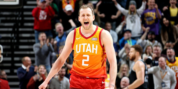 purchase cheap b76e5 7f4d9 Joe Ingles is back in time for the playoffs - Basketball Index