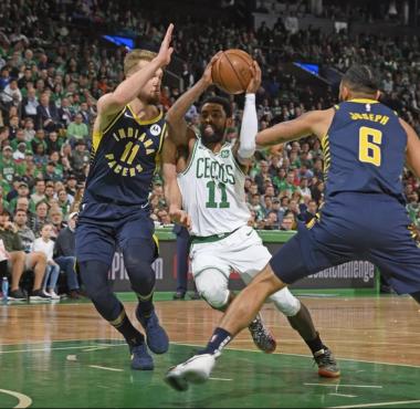 Indiana Pacers versus Boston Celtics NBA Playoffs