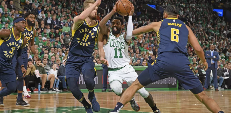 Indiana Pacers versus Boston Celtics NBA Playoffs